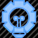 bulb, idea, light icon icon
