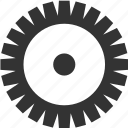 gear, pinion, settings, tool, wheel icon