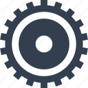 clock, cogwheel, gear, industrial, industry, mechanics, mechanism, technology, transmission icon