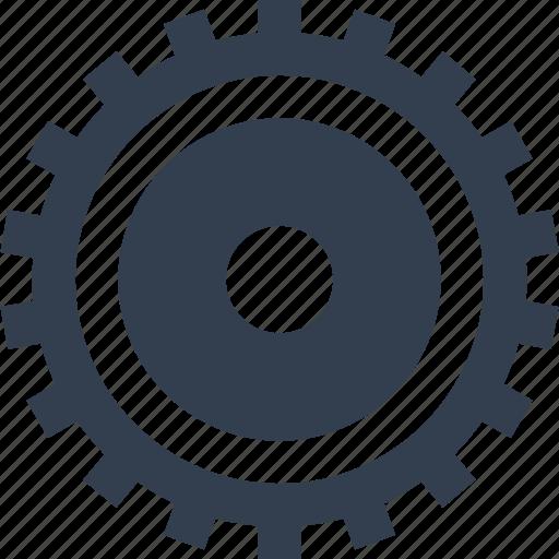 clock, cogwheel, gear, industrial, industry, mechanics, mechanism, technology, transmission icon