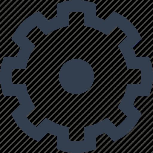 gear, servie, spin, transmission, wheel icon