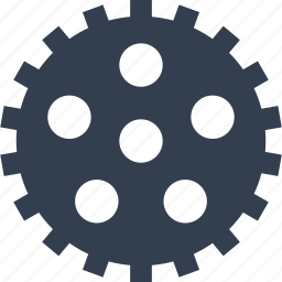 cog, element, gear, mechanical, technology icon