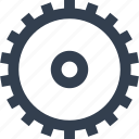 cogwheel, gear, industry, mechanism icon