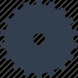 clock, gear, industry, mechanism icon