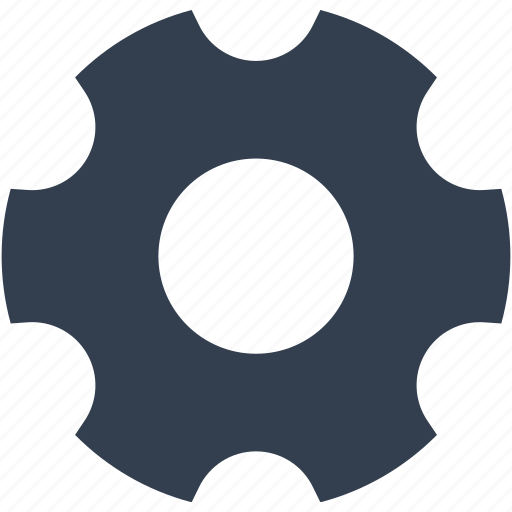 cogwheel, element, gear, technology icon