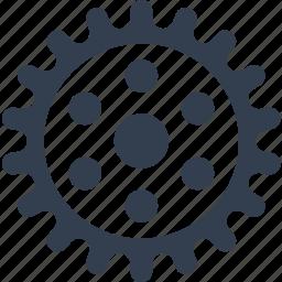 gear, mechanics, transmission icon
