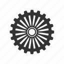 cogwheel, configuration, gear, machine, steel, transmission, wheel icon