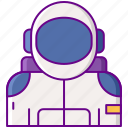 astronaut, human, space, space suit icon