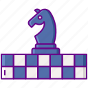 chess, game, horse, strategy