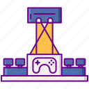 convention, gamepad, gaming, video icon