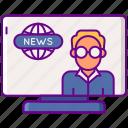 channel, geek, media, news icon