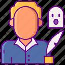 ghost, horror, write, writer