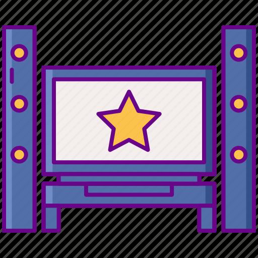 Blockbuster, entertainment, home cinema, movie icon - Download on Iconfinder