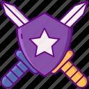 role play, setting, shield, sword