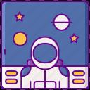 astronaut, galaxy, opera, space