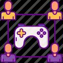 building, gamepad, gaming, team