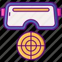 game, glasses, target, vr