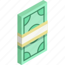 cash, dollar, euro, finance, income, money, revenue icon