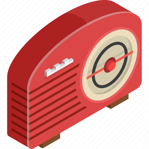 old, radio icon