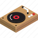 player, vinyl icon