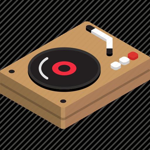 player, vinyl icon