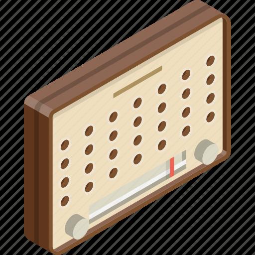 classic, radio icon