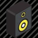 modern, speaker icon