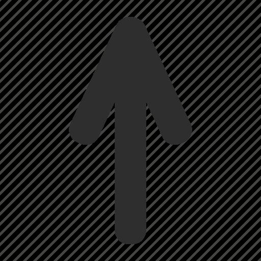 arrow, gender, up icon