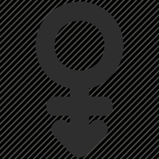 androgyne, arrow, gender, genderqueer icon