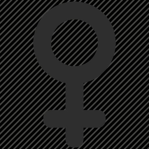 female, gender, woman icon