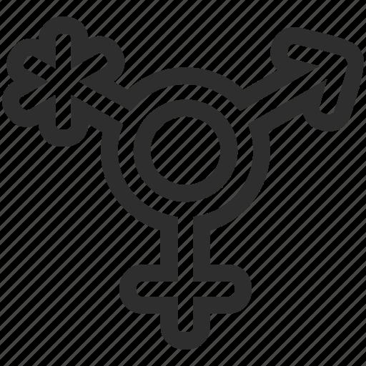 gender, genderqueer, human icon