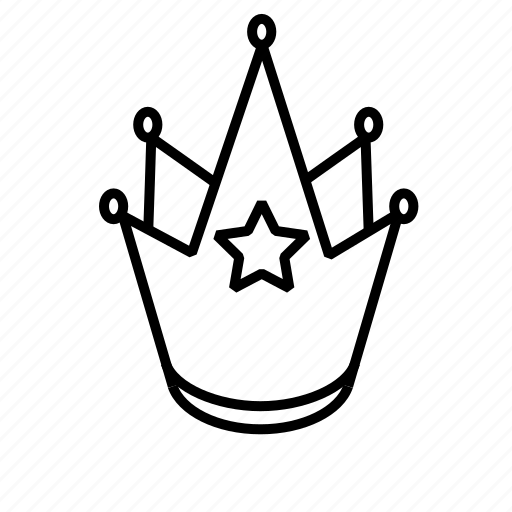 crown, king icon