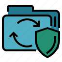 data portability, database, gdpr, general data protection regulation icon