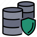 data, database, gdpr, general data protection regulation, protection icon