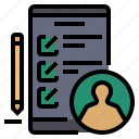 gdpr, general data protection regulation, privacy impact assessment icon