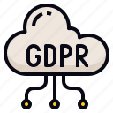 cloud, data, gdpr, transfer icon