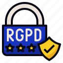 data, eu, protection, rgpd icon