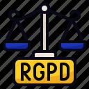 eu, internet, justice, rgpd icon