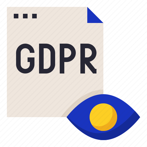 gdpr, information, privacy, transparency icon
