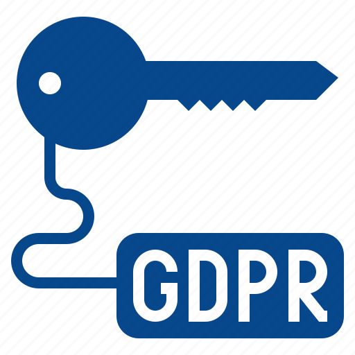 access, gdpr, key, security icon