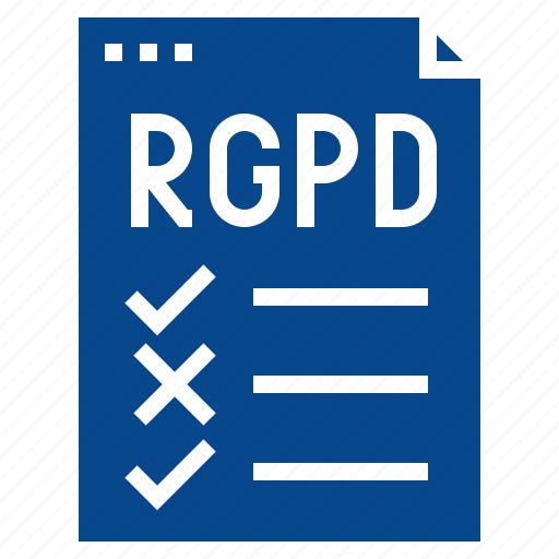 checklist, compliance, regulation, rgpd icon
