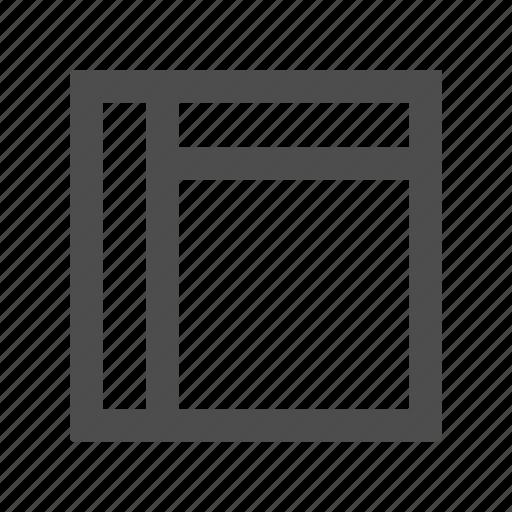 arrange, grid, interface, layout, list icon