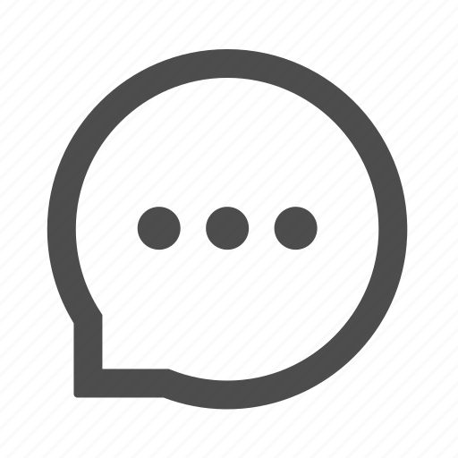 bubble, chat, comment, communication, feedback, message icon