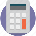 accounting, calculate, calculator, education, finance, financial, mathematics icon