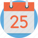 calendar, holiday, month, paper, plan, reminder, time icon