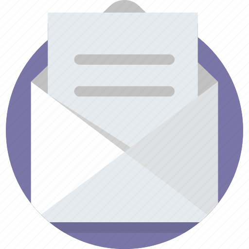 Email, envelope, letter, mail, message, newsletter, receive icon - Download on Iconfinder