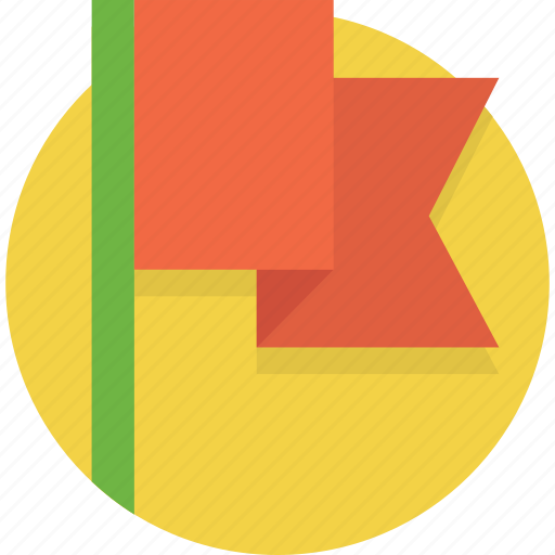 Flag, location, marker, pennant icon - Download on Iconfinder