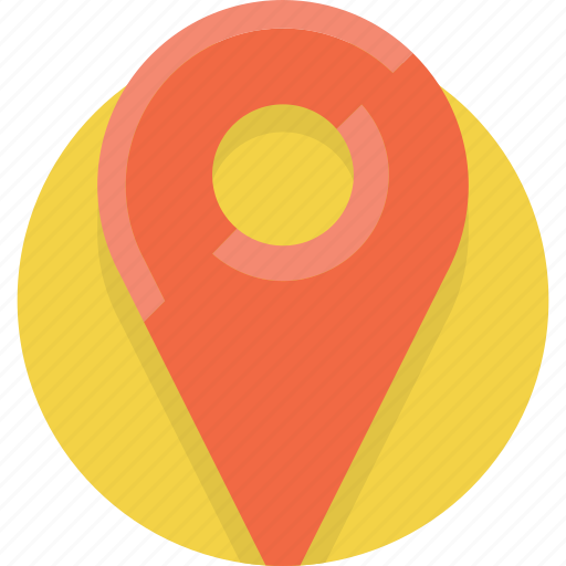 Gps, location, map, navigation, pin, place, point icon - Download on Iconfinder