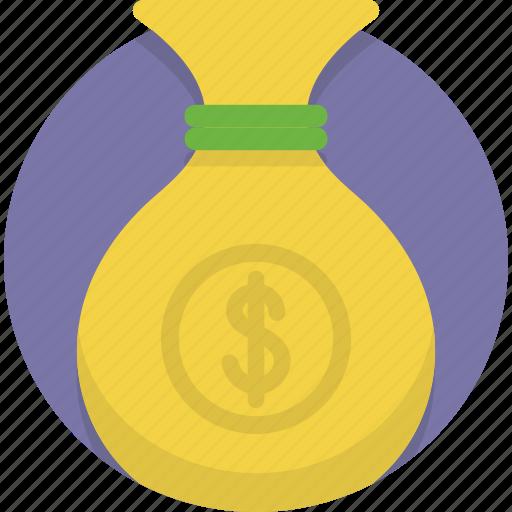Bag, bank, cash, dollar, investment, money, sack icon - Download on Iconfinder