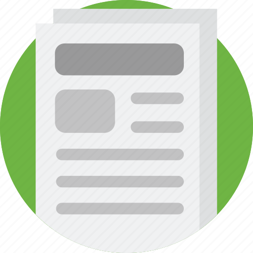 Article, information, media, news, newspaper, paper, press icon - Download on Iconfinder